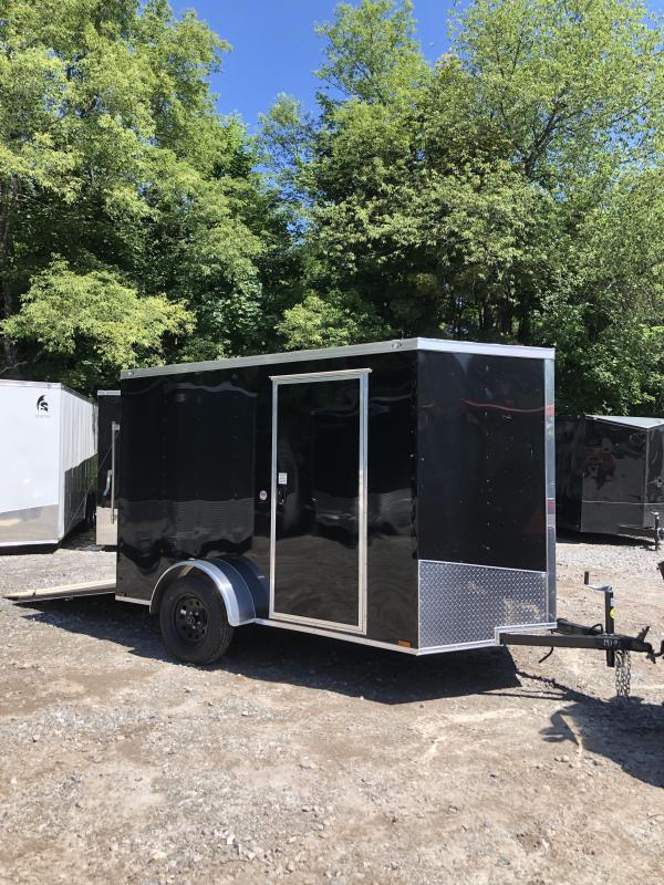 2019 Spartan 6x10 +2ft V nose trailer Ramp door/Extra Height in NH