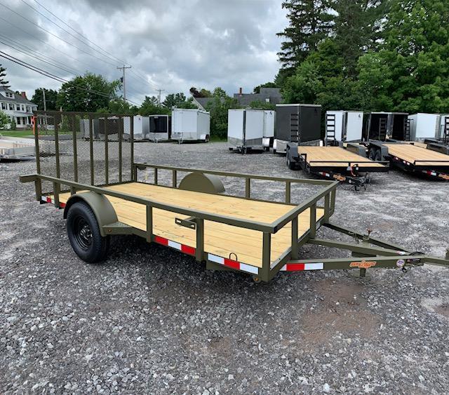 2019 Down 2 Earth Trailer 6x12 Utility Trailer 2990gvwr green in NH