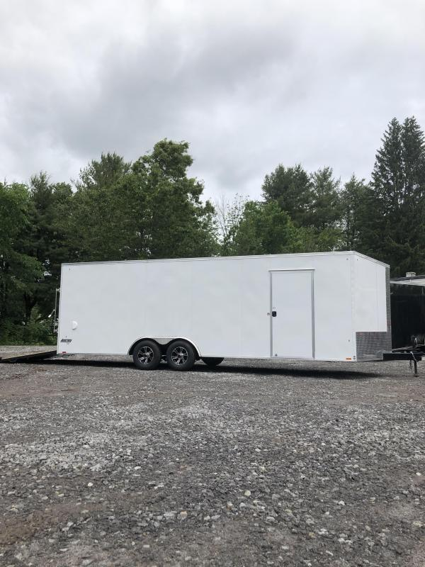 New Pace 8.5x24 Enclosed trailer 9990gvwr/ON SALE