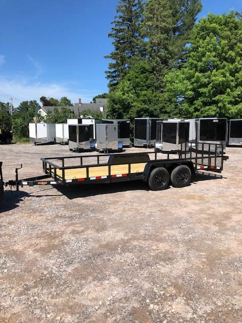 2019 D2E Trailer 7x18 landscape trailer 7000gvwr dove tail in NH