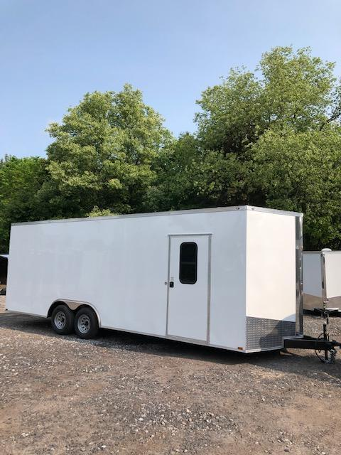 2019 Spartan 8.5x24 +2ft V trailer 9990gvwr Extra height/110v power in NH