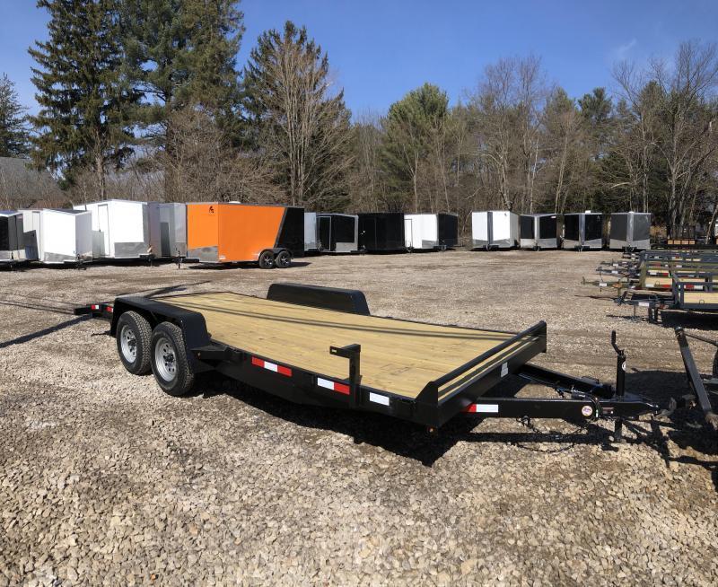 2019 D2E trailer 7x18 Car hauler 7k gvwr/w. dexter axles in Ashburn, VA