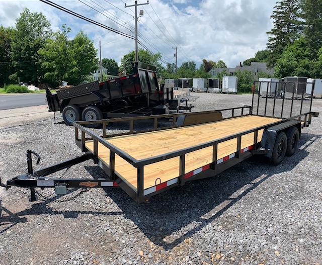 SALE 2019 D2E 7x20 landscape trailer 7000gvwr/tube steel