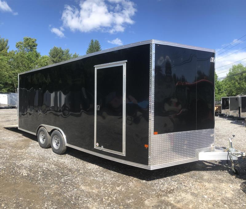 2019 EZhauler 8 5x20 Aluminum Trailer Extra height/9990gvwr/finished inter