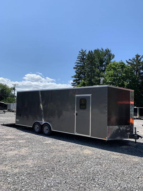 "SALE Pace 8.5x24 Enclosed trailer 9990gvwr/window/18"" extra height"