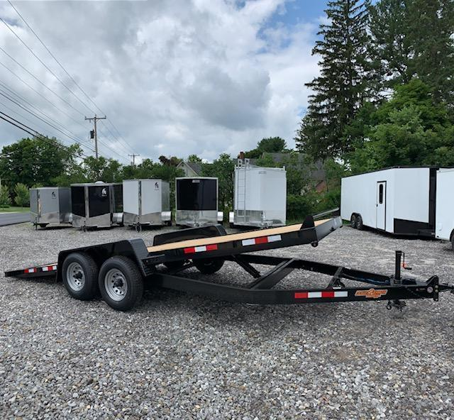 SALE 2019 D2E 7x20 Gravity tilt 9990gvwr trailer/w. dexter axles