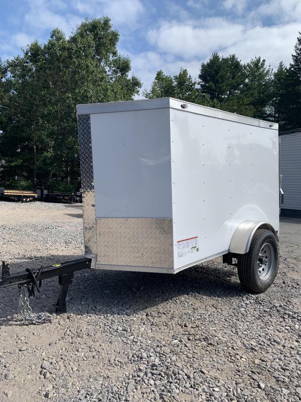New Spartan 4X6 +2FT v-nose enclosed trailer
