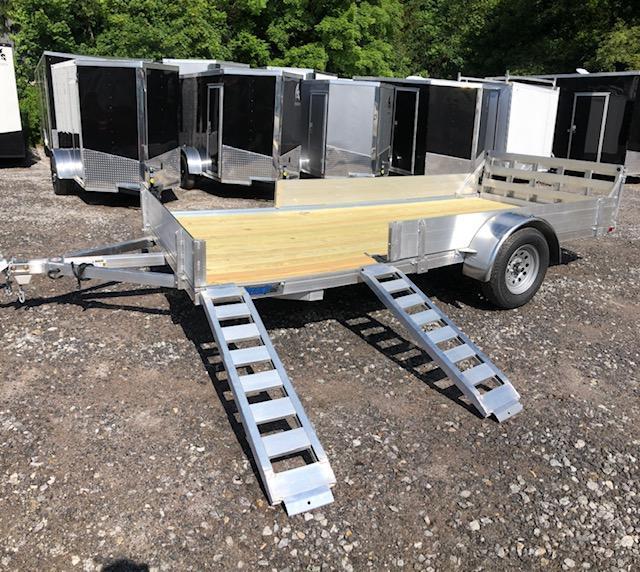 2019 Mission Aluminum 7x14 trailer side load ramps/bi-fold gate in NH
