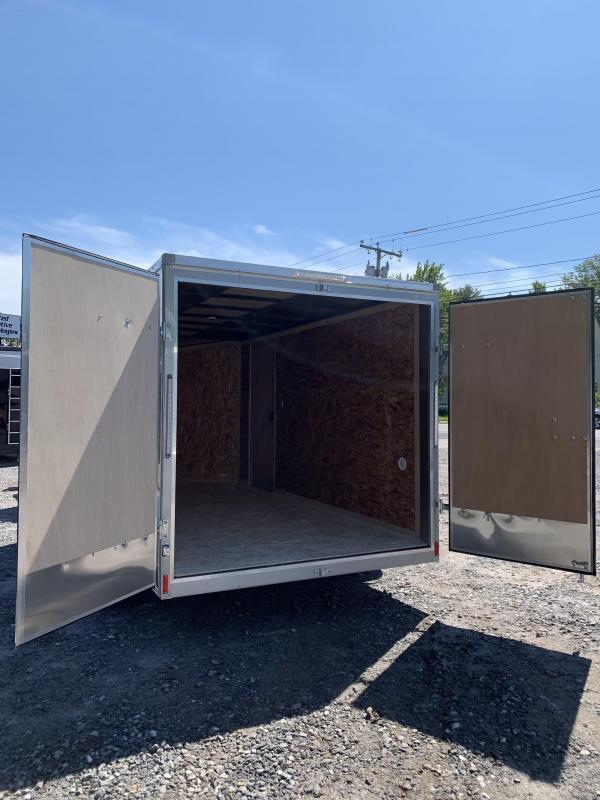 """2020 PACE 7X14 +2ft V trailer double doors/6"""" extra height"""