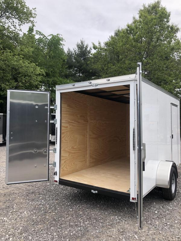 2019 Spartan 6x12 +2ft V nose trailer double doors/Extra Height in NH