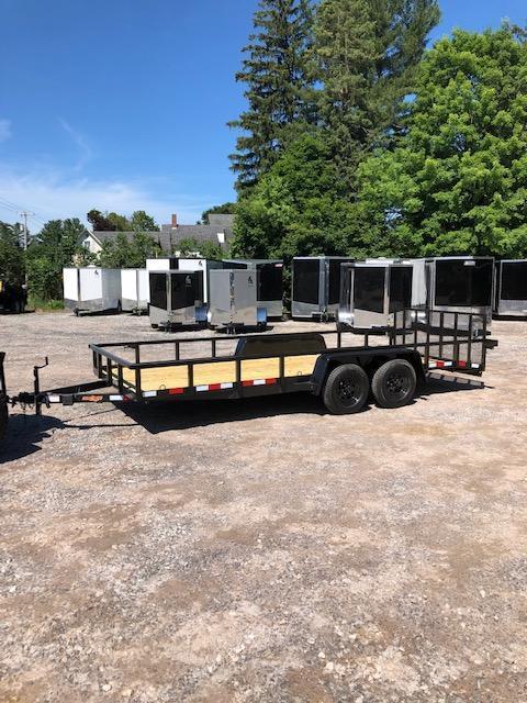 2019 D2E Trailer 7x20 landscape trailer 7000gvwr dove tail in NH