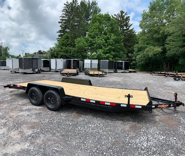 2019 D2E trailer 7x20 Car hauler 7k gvwr/w. dexter axles in Ashburn, VA