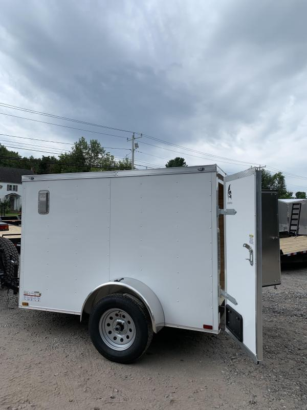 2019 Spartan 5x8 2ft v-nose Enclosed Trailer/double door