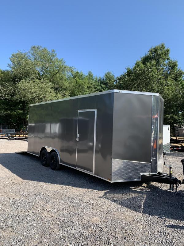 "New Spartan 8.5x20 trailer 9990gvwr/18"" extra height"