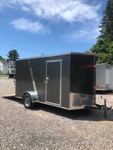 2019 Spartan 6x12 +2ft V nose trailer Ramp door/Extra Height in NH