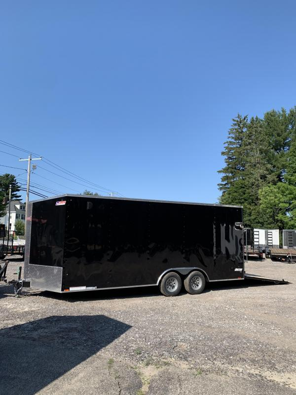Pace American 8.5x20 trailer 9990gvwr/rv window/extra height