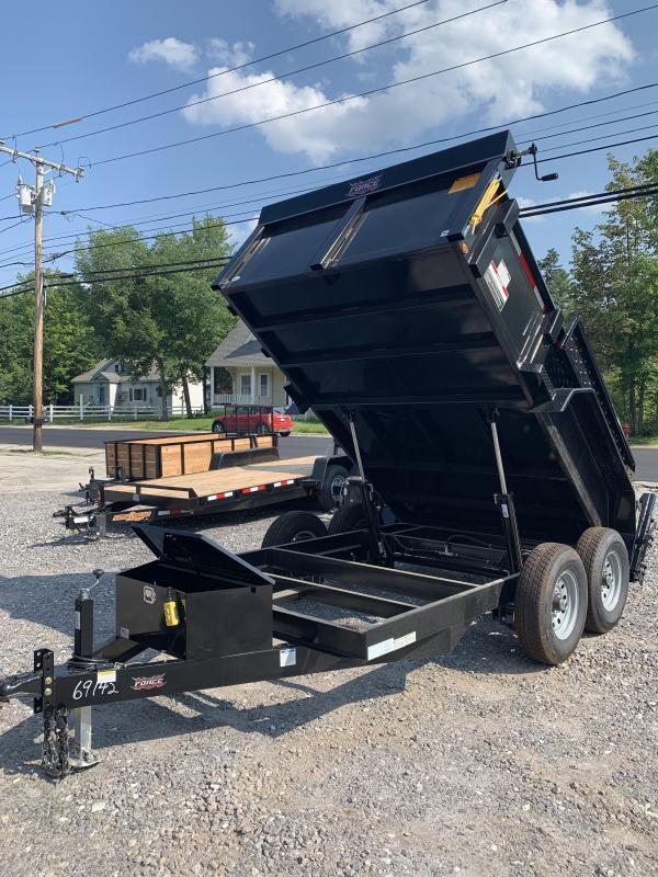SALE Force dump trailer 7x12 12k gvwr-Fully loaded