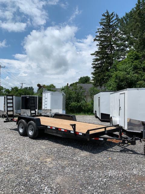 SALE 2019 D2E 7x20 Equipment Trailer 14k GVWR/Dexter Axles