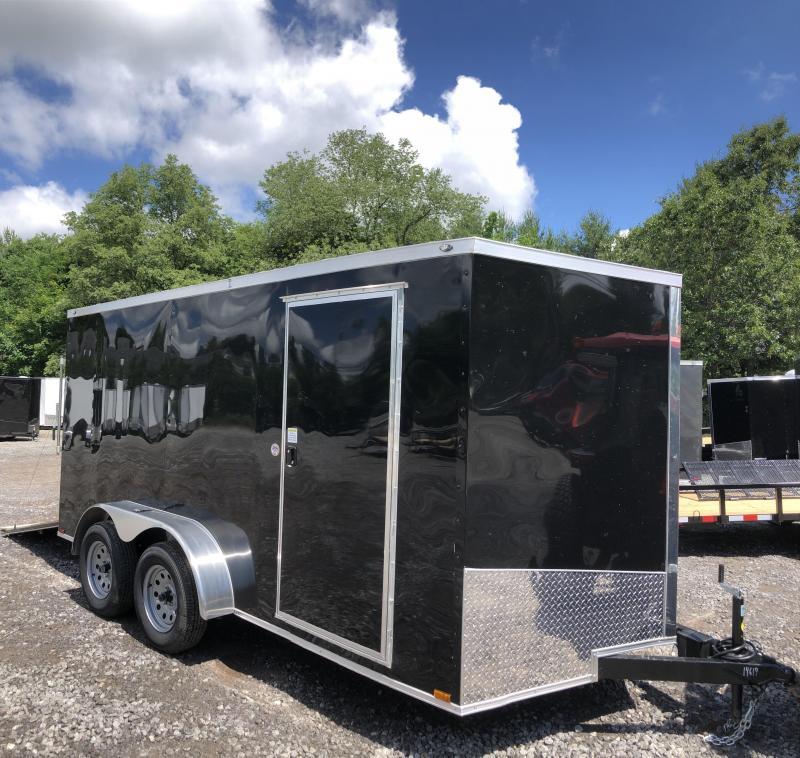 "2019 Spartan 7X14 +2ft V trailer 6"" extra height/ramp door in NH"