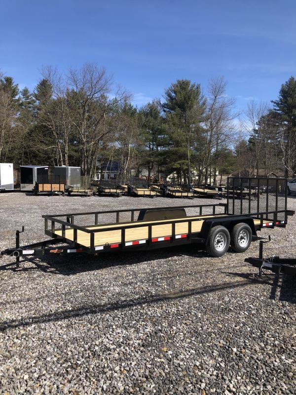 2019 Down 2 Earth Trailers 7x20 landscape trailer 7000gvwr in Ashburn, VA