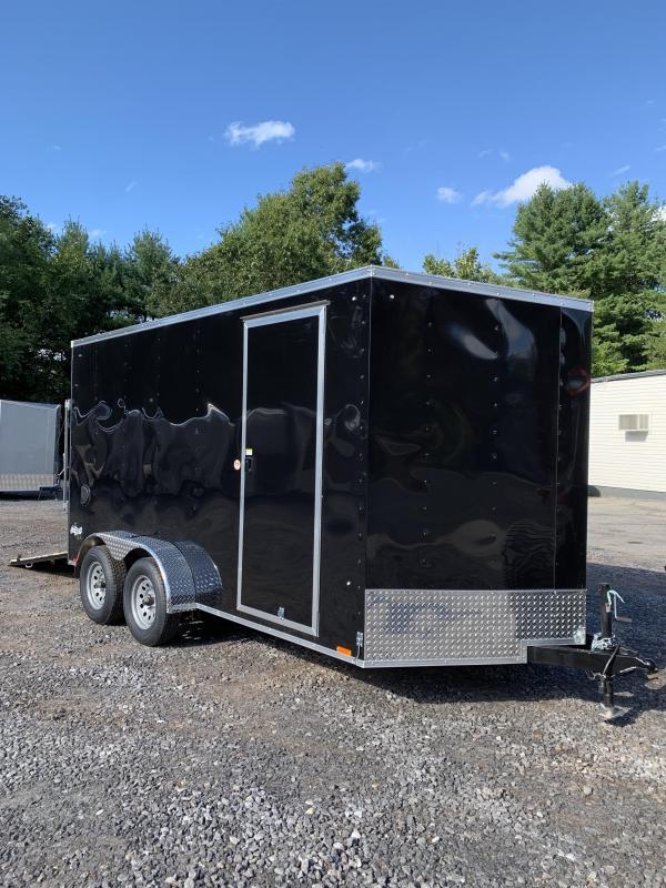 "2020 PACE 7X14 +2ft V trailer ramp door/12"" extra height"