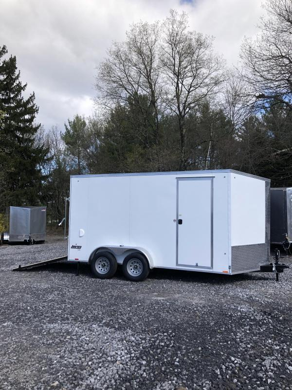 2020 Pace 7x14 +2ft V Trailer with 12