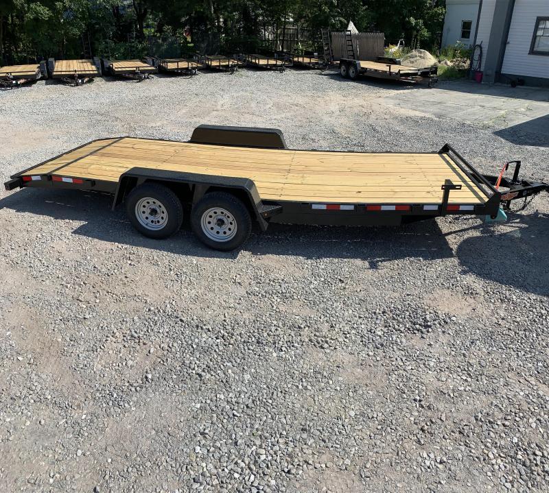 2019 D2E trailer 7x20 Car hauler 7k gvwr/w. dexter axles