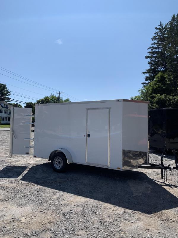 2019 Spartan 6x12 +2ft V nose trailer double doors/Extra Height
