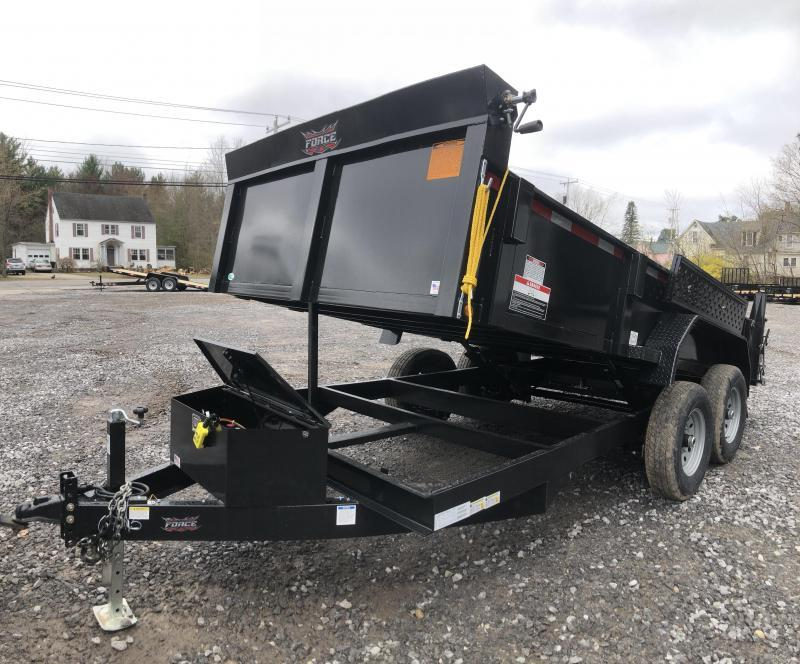 2020 Force hydraulic dump trailer 7x14 14k gvwr-FULLY LOADED in NH