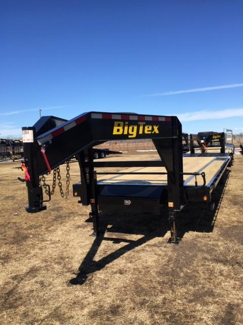 2019 Big Tex Trailers 14GN-25BK5MR Flatbed Trailer