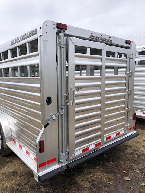 2020 Elite Trailers 7628 Livestock Trailer