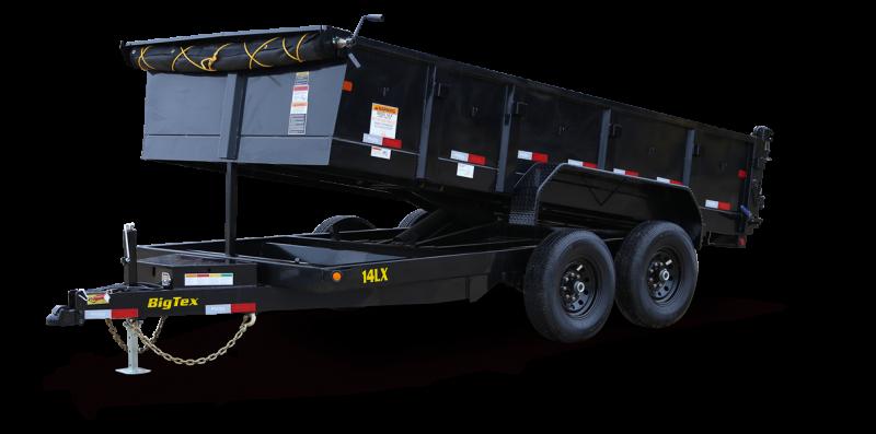 2020 Big Tex Trailers 14LX-14BK7SIRPD Dump Trailer