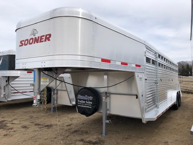 2019 Sooner 24' Livestock Trailer