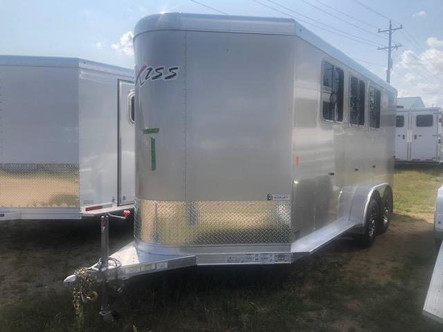 2020 Exiss Trailers 730 BP Horse Trailer