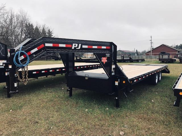 2019 PJ Trailers 25' Flatbed Trailer