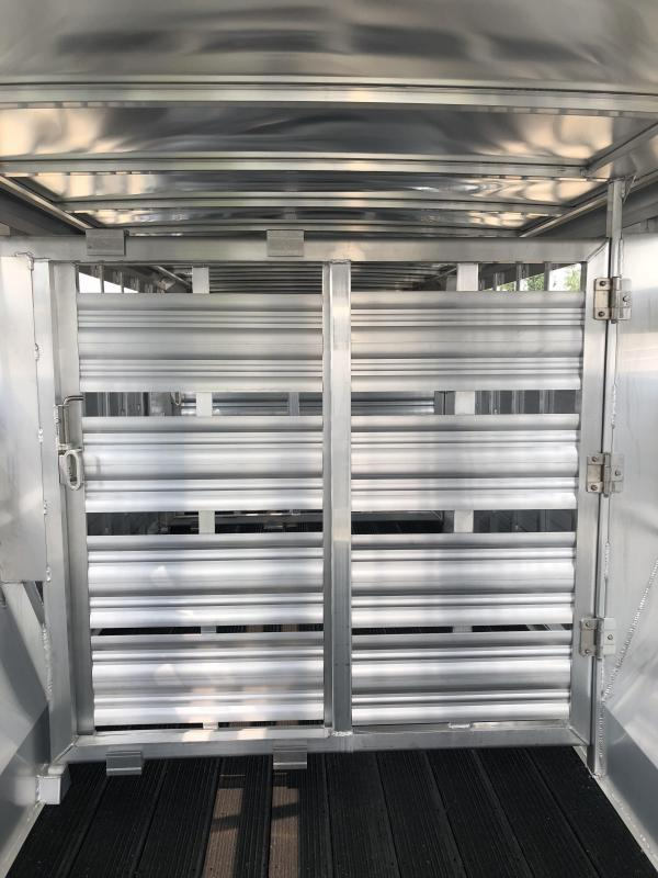 2019 Featherlite 28' Stock Trailer
