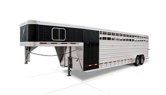 2019 Featherlite 8413 24' Livestock Trailer