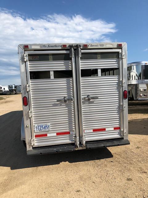 2000 Southern Classic Stock/Combo Slant Horse Trailer