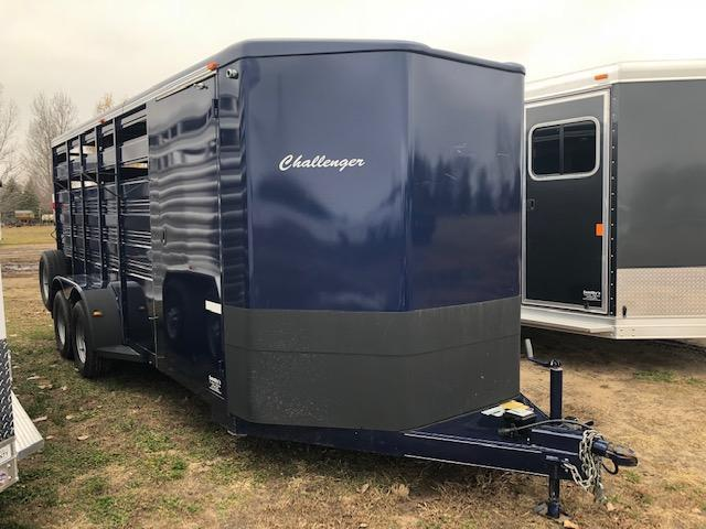 2016 Titan 16' Stock Trailer