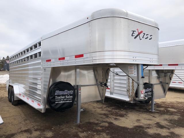 2019 Exiss 20' Livestock Trailer