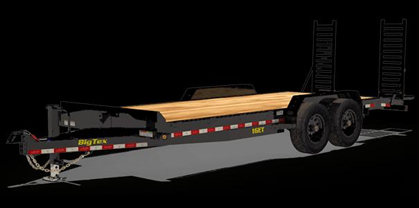 2019 Big Tex Trailers 16ET-153 Equipment Trailer