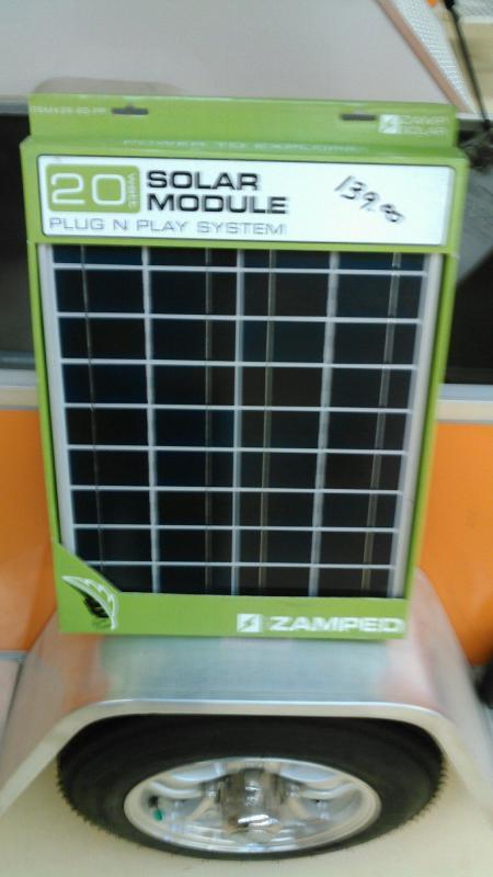 Zamped - Solar Module