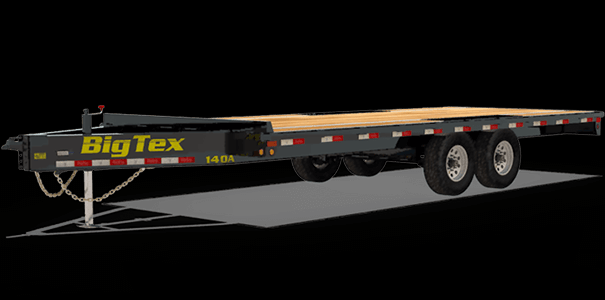 2018 Big Tex Trailers 14OA Flatbed Trailer