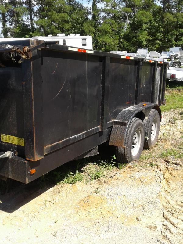 2014 Trailer Trail Maker Dump Dump Trailer