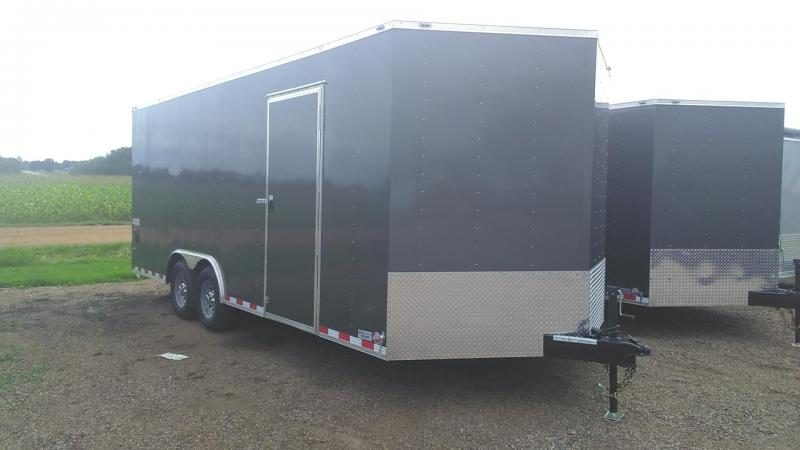 2020 Bravo Trailers SC8520TA3 Enclosed Cargo Trailer