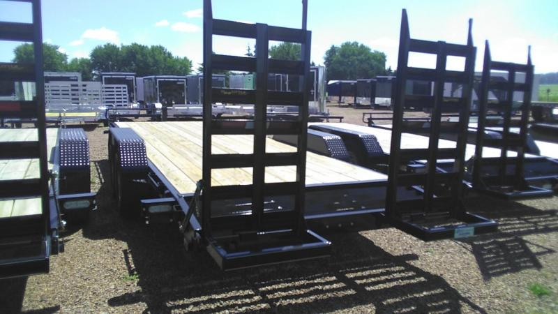 2020 Doolittle Trailer Mfg Xtreme 82'' Wide 14K 22' Equipment Trailer