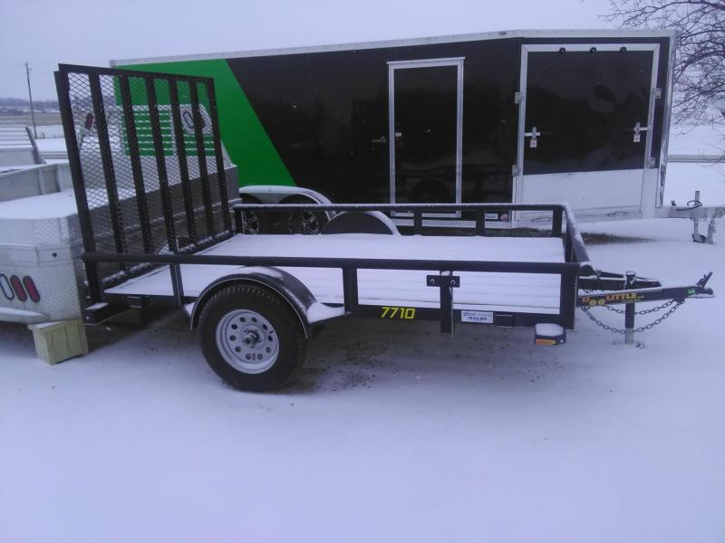 2019 Doolittle Trailer Mfg 770 Series Single Axle 3K Utility Trailer