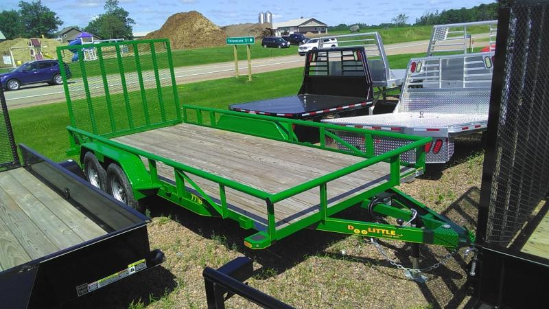 2020 Doolittle Trailer Mfg 770 Series Tandem Axle 7K 16FT Utility Trailer