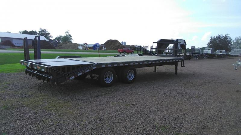 2019 Doolittle Trailer Mfg Brute Force Tandem Axle 22K Flatbed Trailer