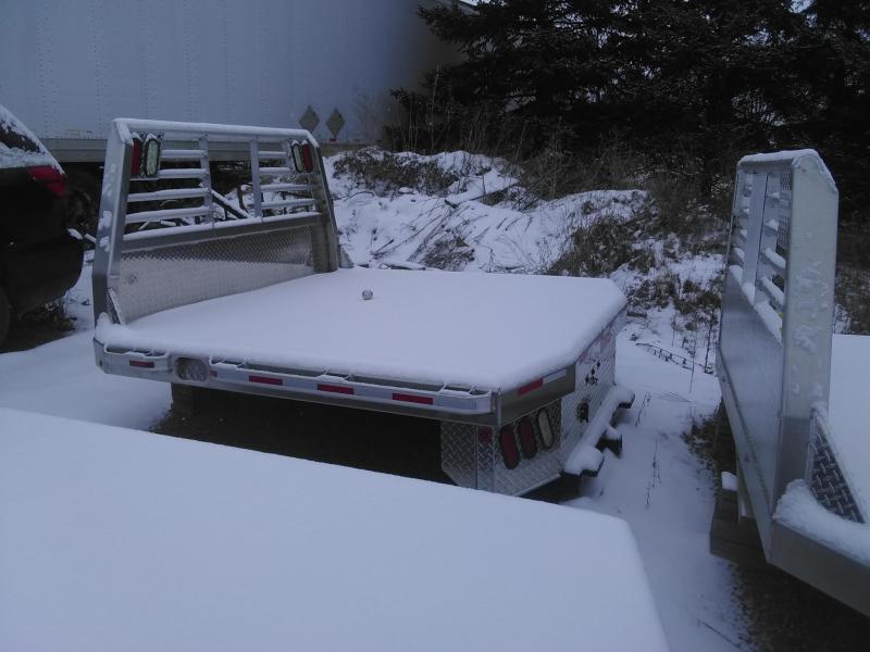 2019 Zimmerman 6000XL 84x84 Aluminum flatbed Truck Bed